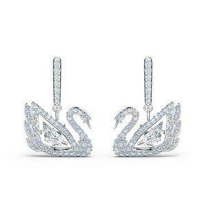 SWAROVSKI BEE A QUEEN Crown earrings